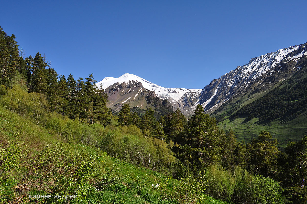 The Caucasus. Elbrus 01