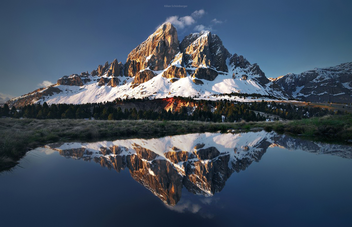 The Dolomites is the heart of the Alps 13