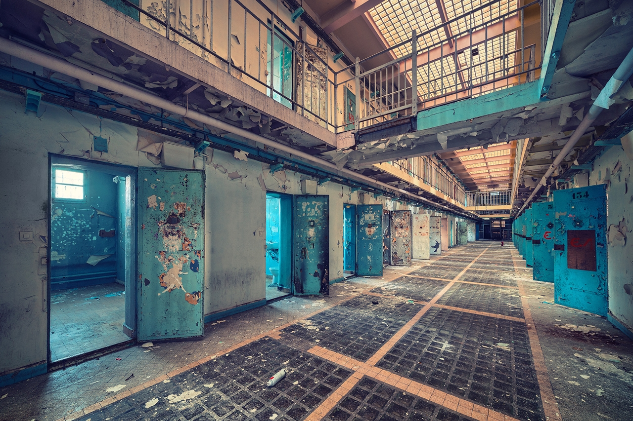 The abstract beauty of abandoned spaces in the works of Matthias Hacker 13