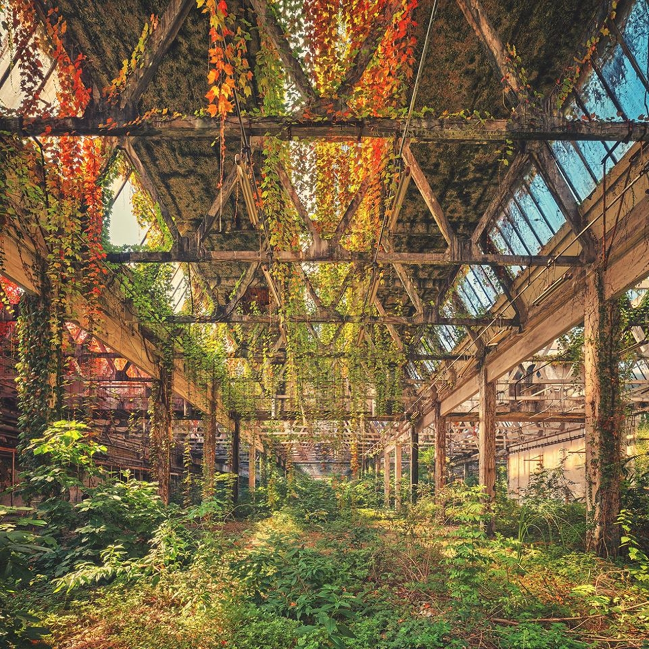 The abstract beauty of abandoned spaces in the works of Matthias Hacker 20