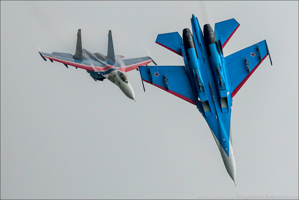 The anniversary of the aerobatic team -Russian Knights- 11