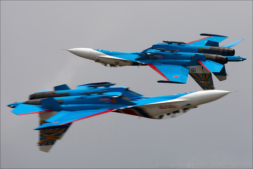 The anniversary of the aerobatic team -Russian Knights- 13