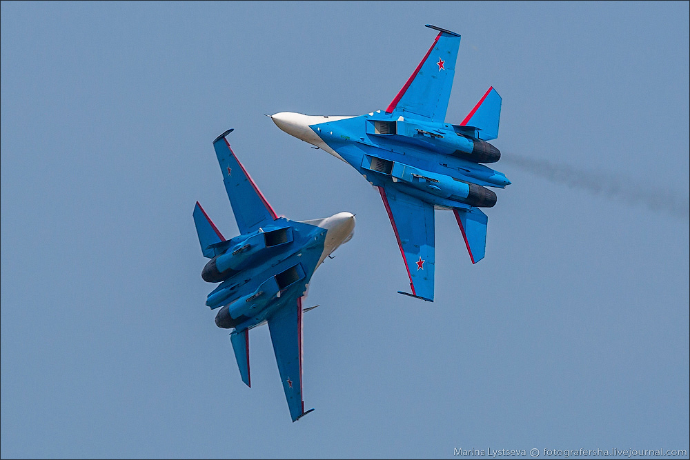 The anniversary of the aerobatic team -Russian Knights- 14