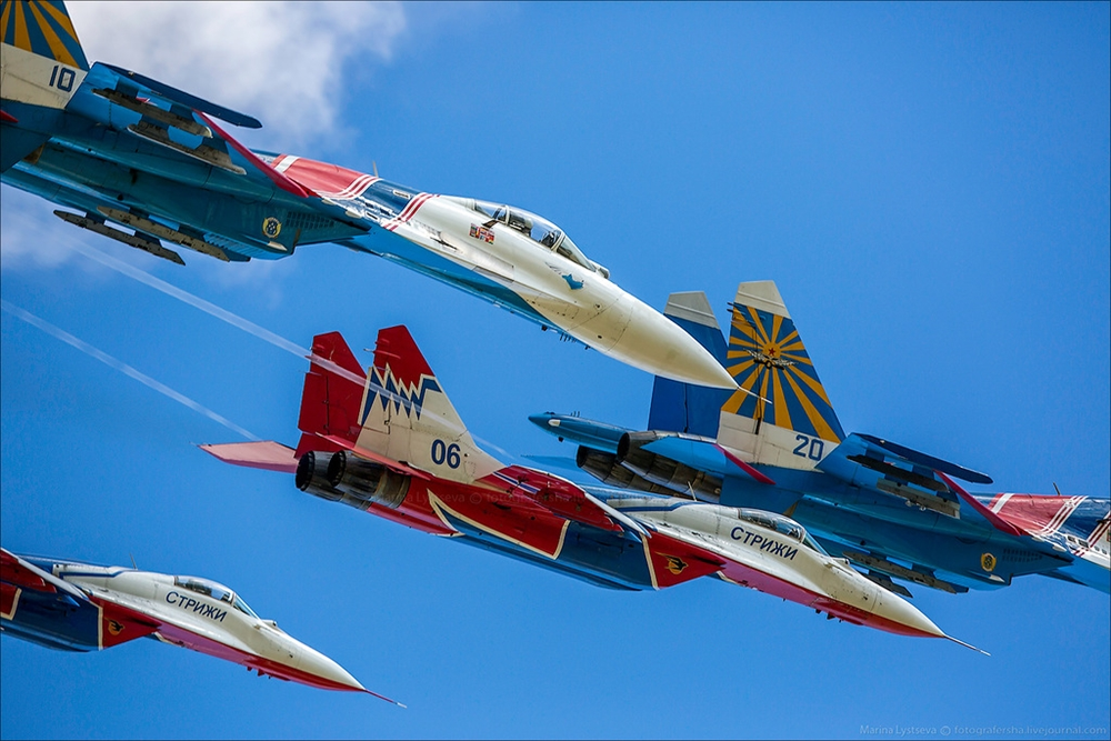 The anniversary of the aerobatic team -Russian Knights- 19