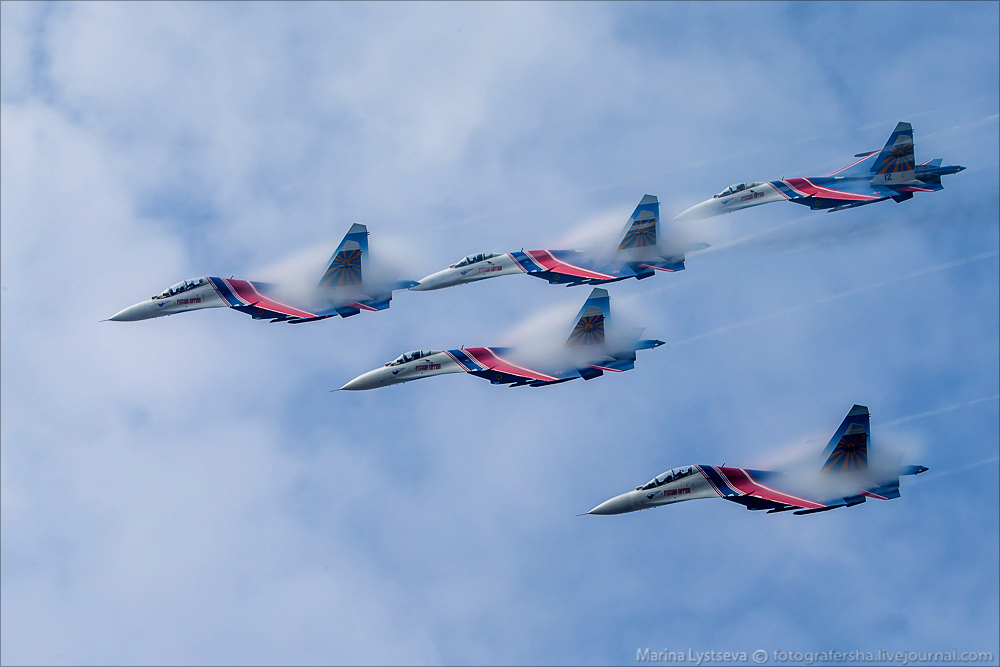 The anniversary of the aerobatic team -Russian Knights- 20