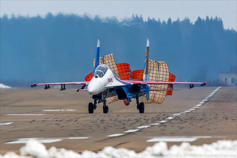 The anniversary of the aerobatic team -Russian Knights- 21