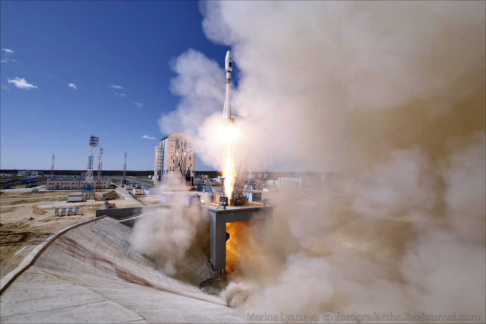 The first rocket launch from Vostochny 01