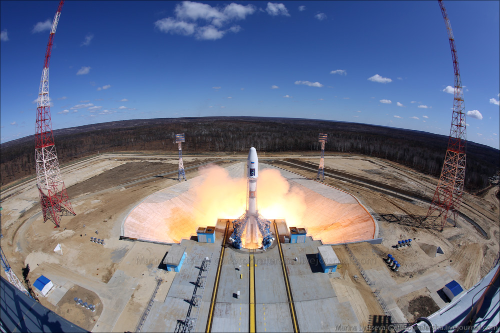 The first rocket launch from Vostochny 02