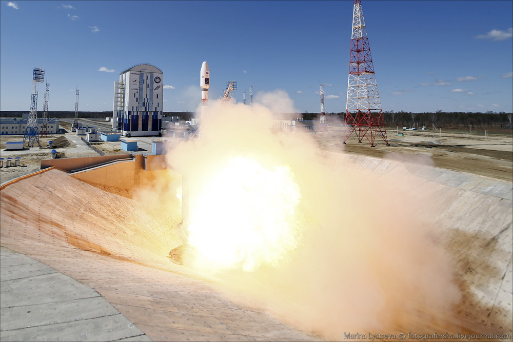 The first rocket launch from Vostochny 03