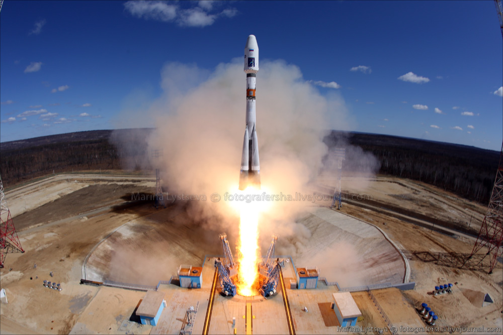 The first rocket launch from Vostochny 04