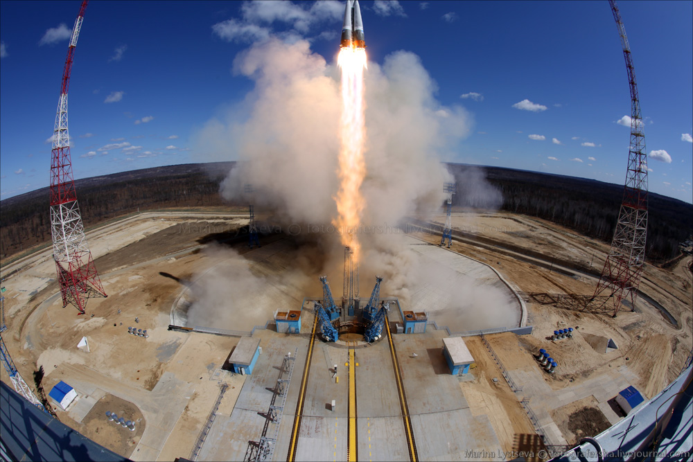 The first rocket launch from Vostochny 05