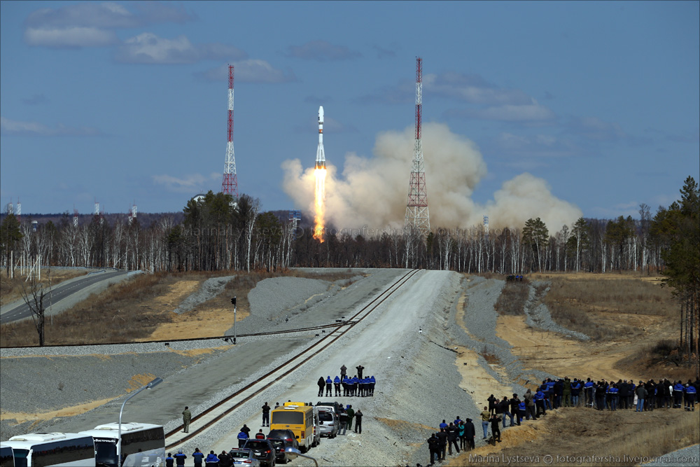 The first rocket launch from Vostochny 06