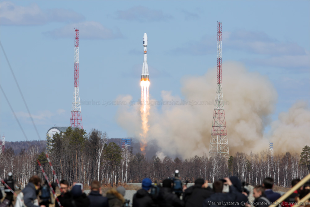 The first rocket launch from Vostochny 07