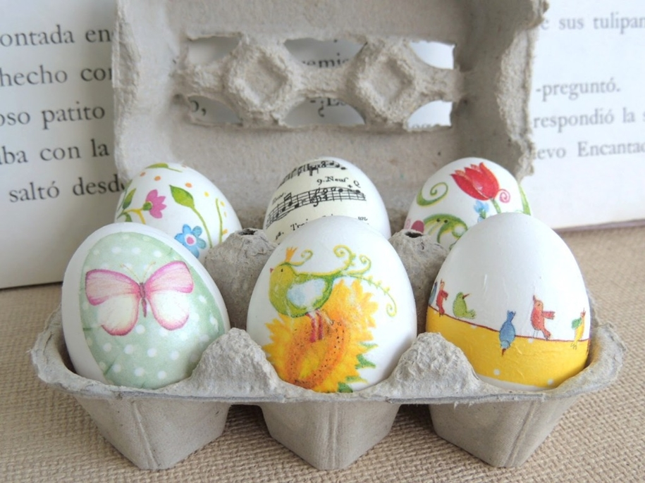 The original idea of painting eggs for Easter 10
