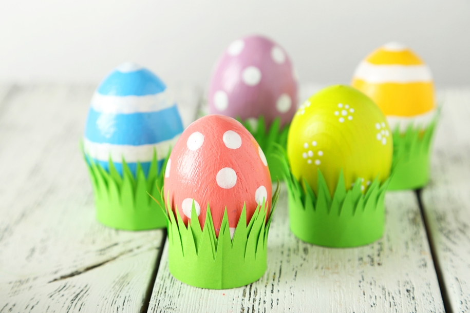 The original idea of painting eggs for Easter 12