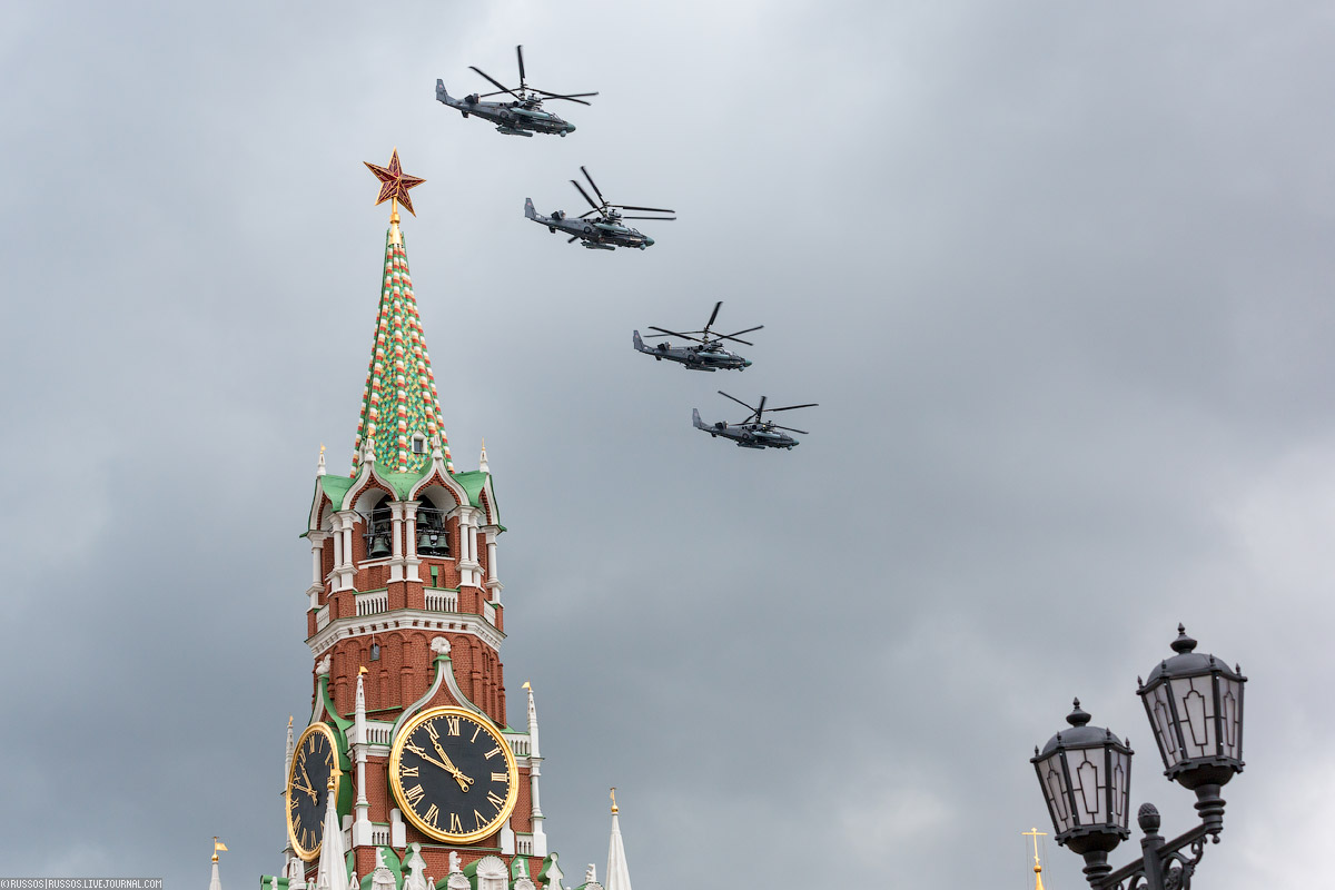 A rehearsal of aircraft parade on Victory Day 04
