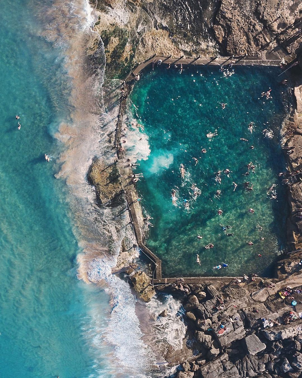 Aerial photos of Australia taken from the drone 13