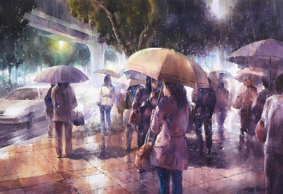 Amazing watercolor paintings by contemporary artists 05