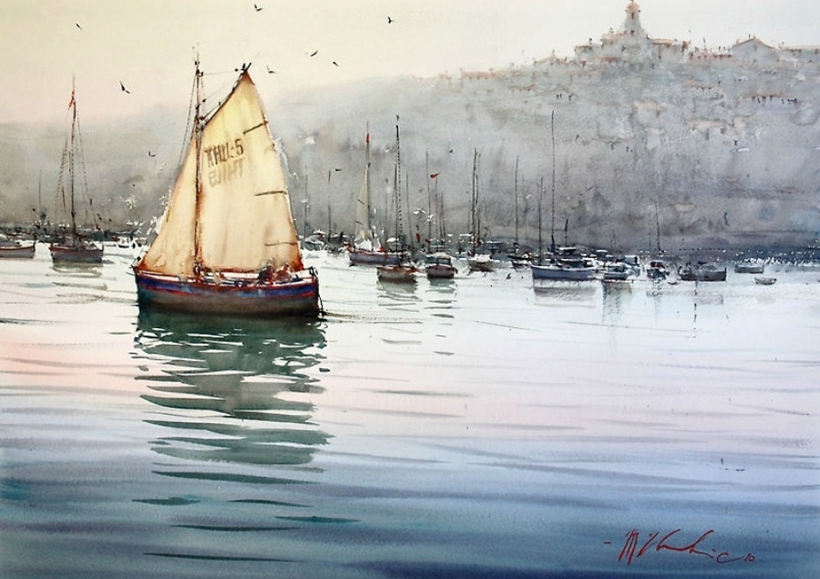 Amazing watercolor paintings by contemporary artists 10