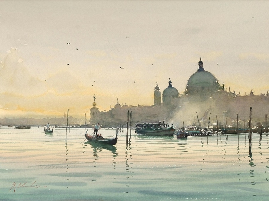 Amazing watercolor paintings by contemporary artists 11