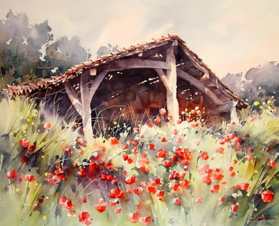Amazing watercolor paintings by contemporary artists 20