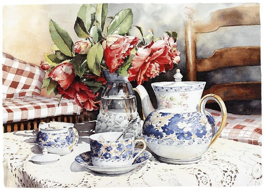 Amazing watercolor paintings by contemporary artists 21
