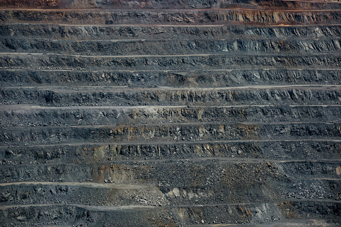 As mined iron ore 37