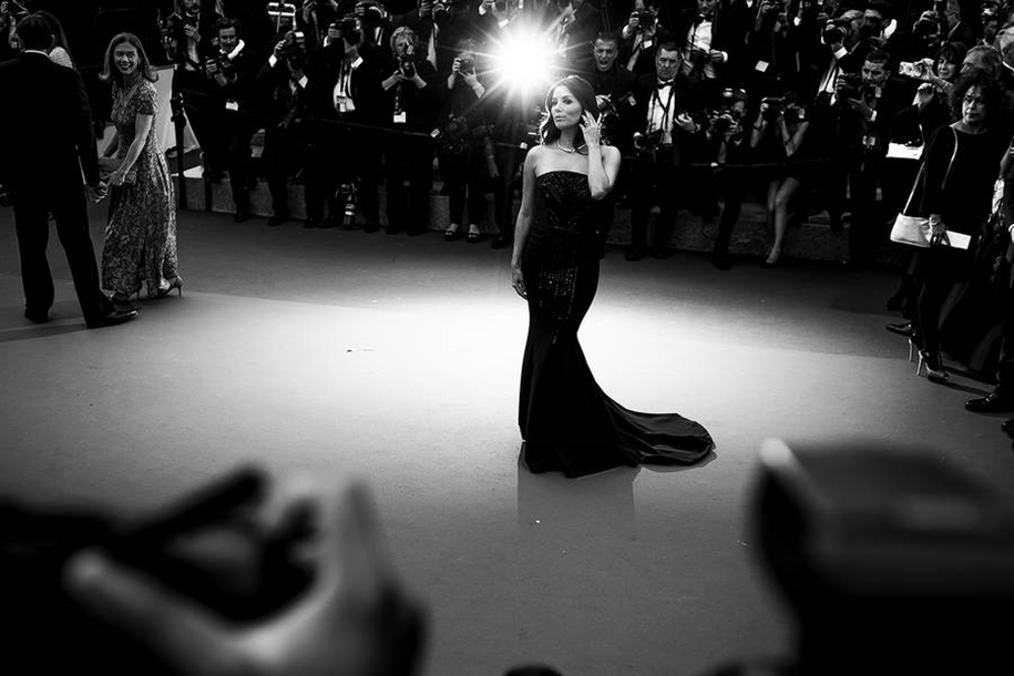 Black-and-white photos of movie stars with the Cannes film festival 2016 in the lens of Vincent Desailly 02