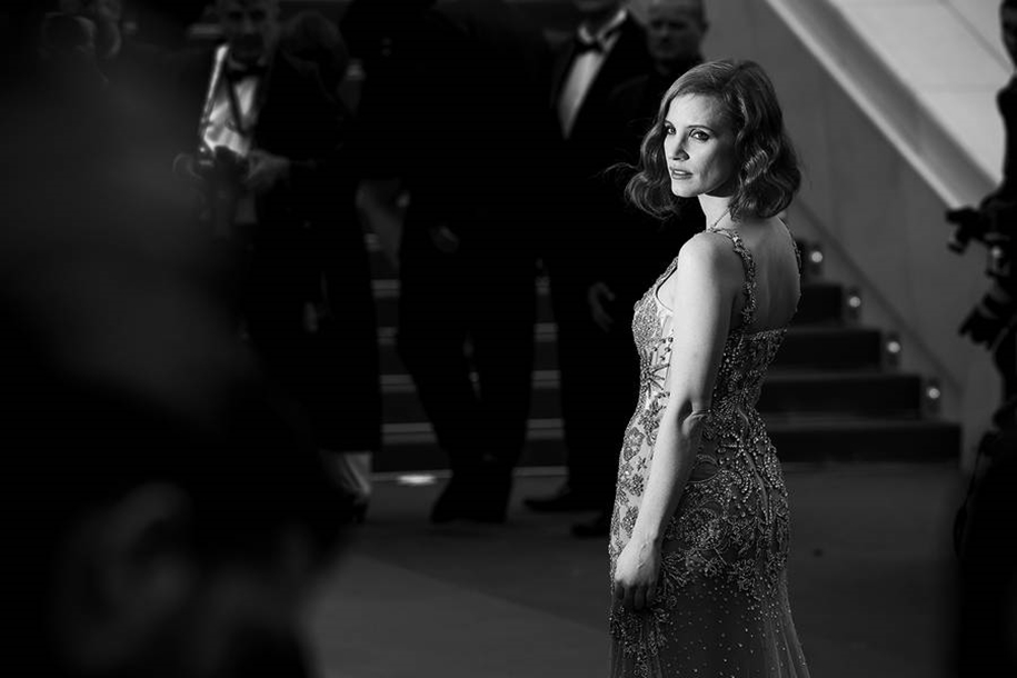 Black-and-white photos of movie stars with the Cannes film festival 2016 in the lens of Vincent Desailly 03