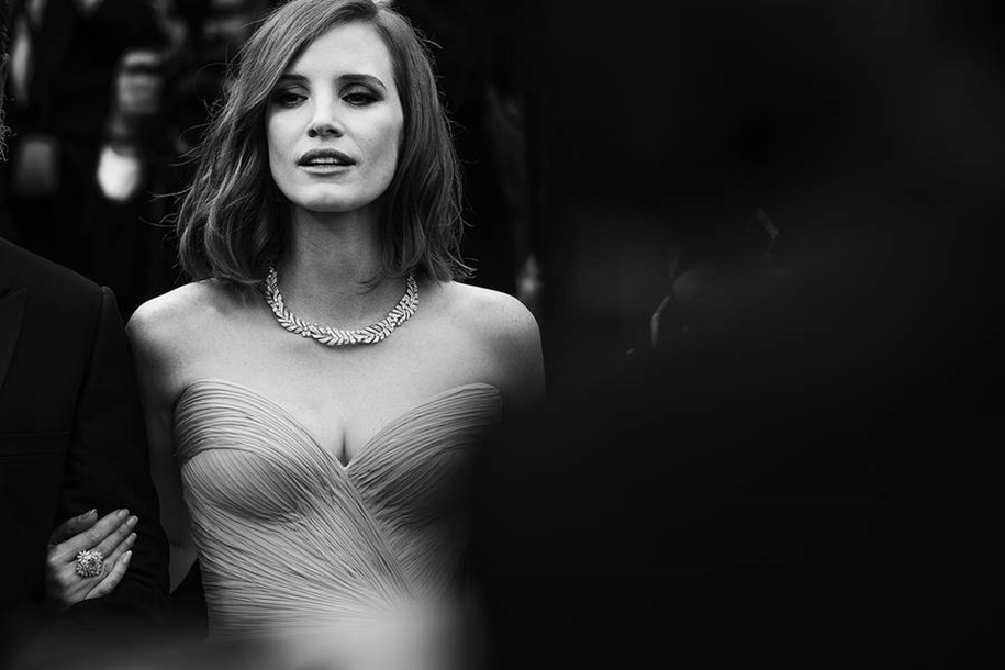 Black-and-white photos of movie stars with the Cannes film festival 2016 in the lens of Vincent Desailly 04