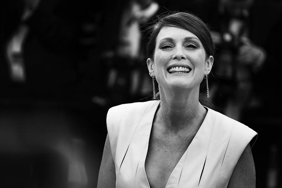 Black-and-white photos of movie stars with the Cannes film festival 2016 in the lens of Vincent Desailly 08