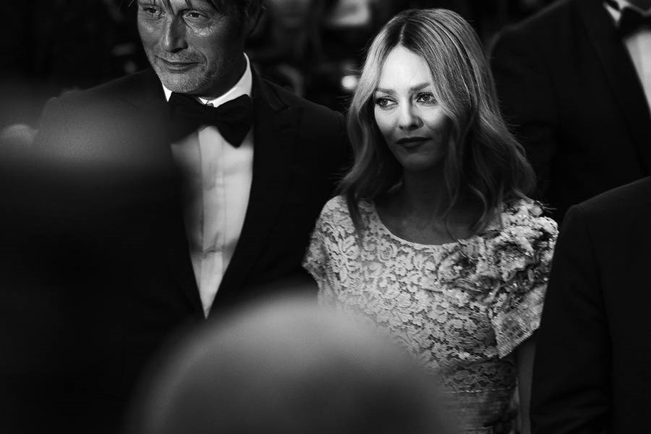 Black-and-white photos of movie stars with the Cannes film festival 2016 in the lens of Vincent Desailly 15