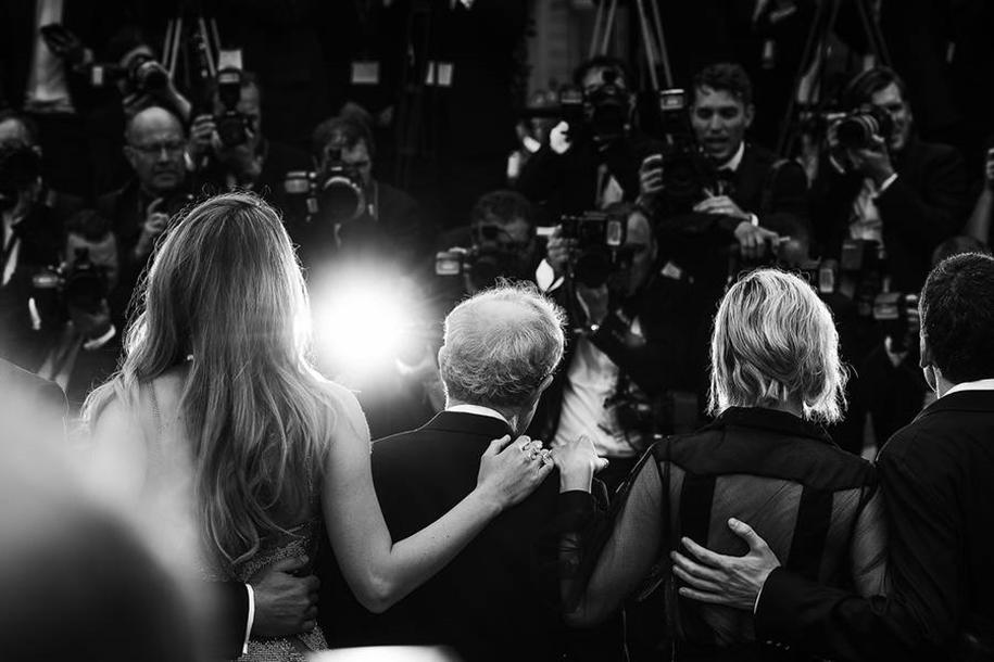 Black-and-white photos of movie stars with the Cannes film festival 2016 in the lens of Vincent Desailly 16