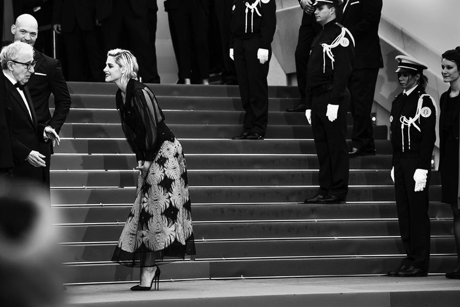 Black-and-white photos of movie stars with the Cannes film festival 2016 in the lens of Vincent Desailly 23