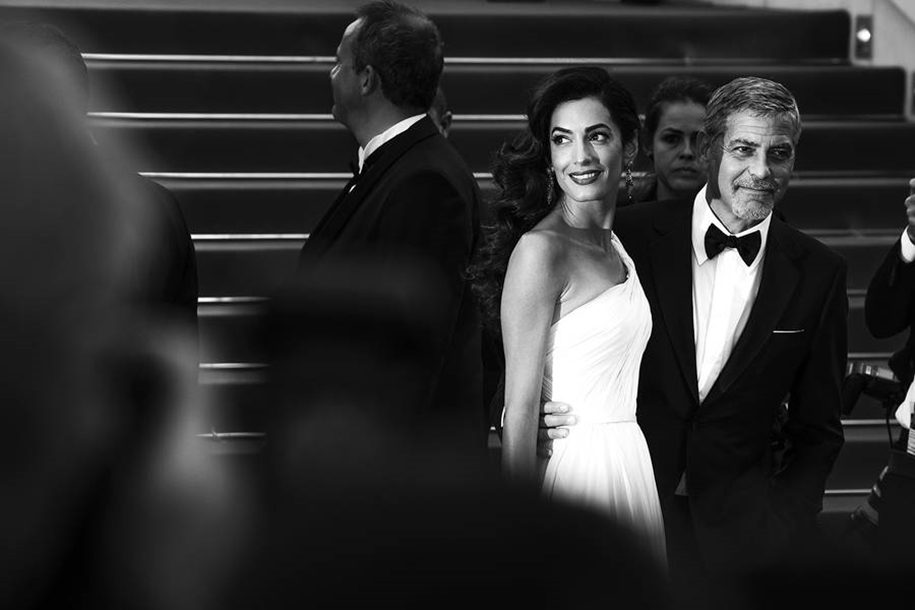 Black-and-white photos of movie stars with the Cannes film festival 2016 in the lens of Vincent Desailly 29