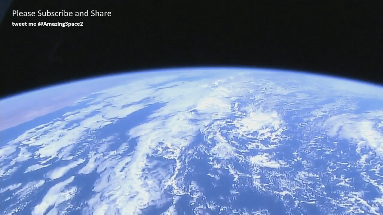 Continuous 24-hour stream of Earth from the ISS. if you want to rest or relax