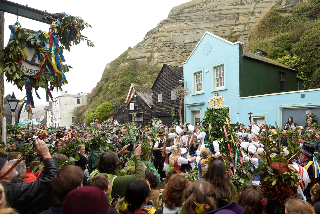 Green parade in England -Jack in the Green- 06