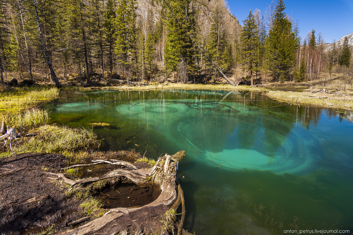 Hot spring lake in the Altai 03