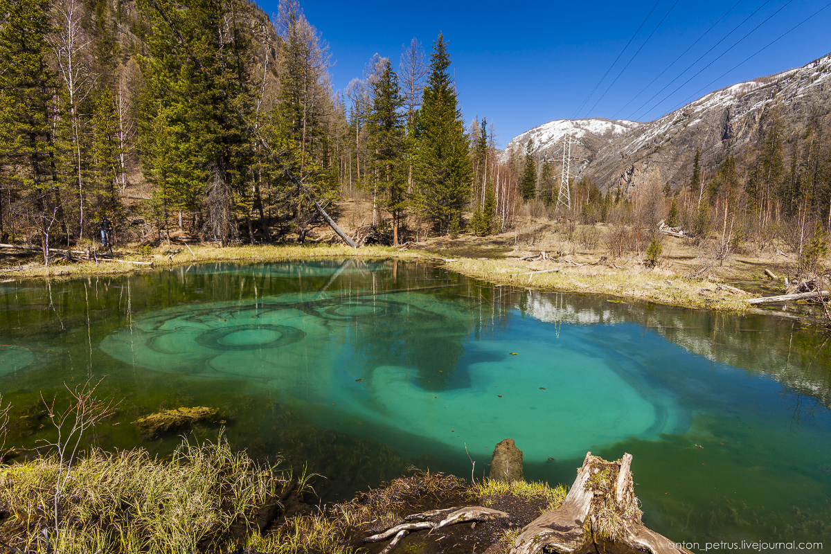 Hot spring lake in the Altai 05