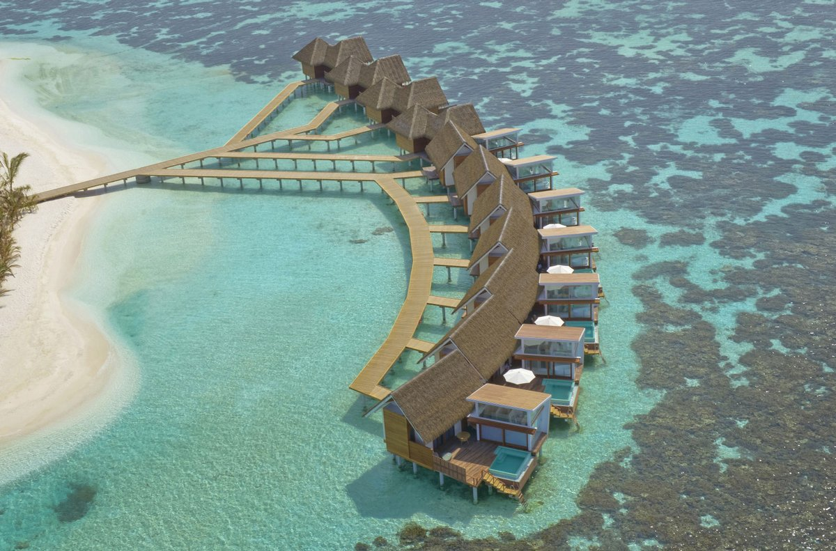 Island resort in the Maldives 02