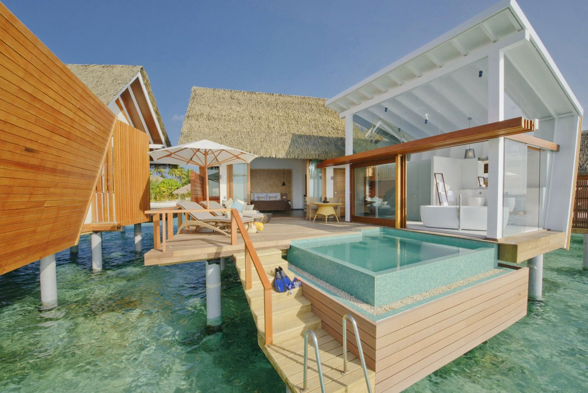 Island resort in the Maldives 07