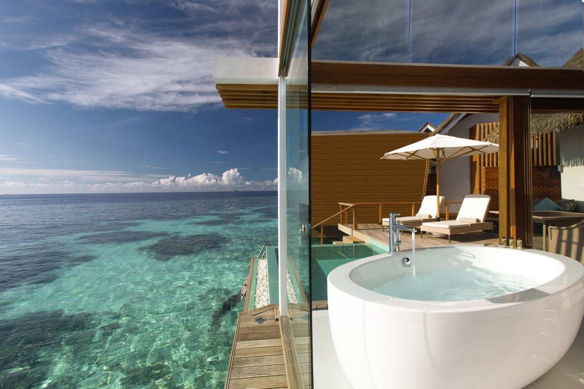 Island resort in the Maldives 10