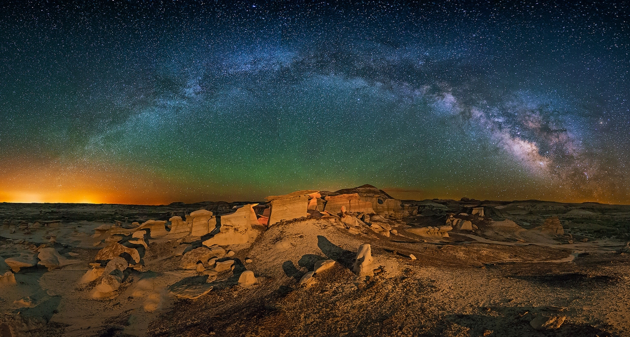 Landscape astrophotography by Wayne Pinkston 05
