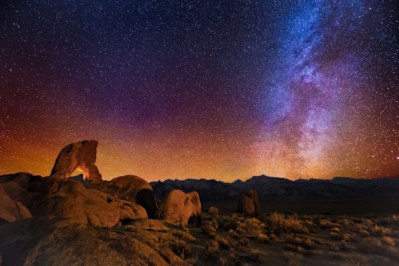Landscape astrophotography by Wayne Pinkston 07