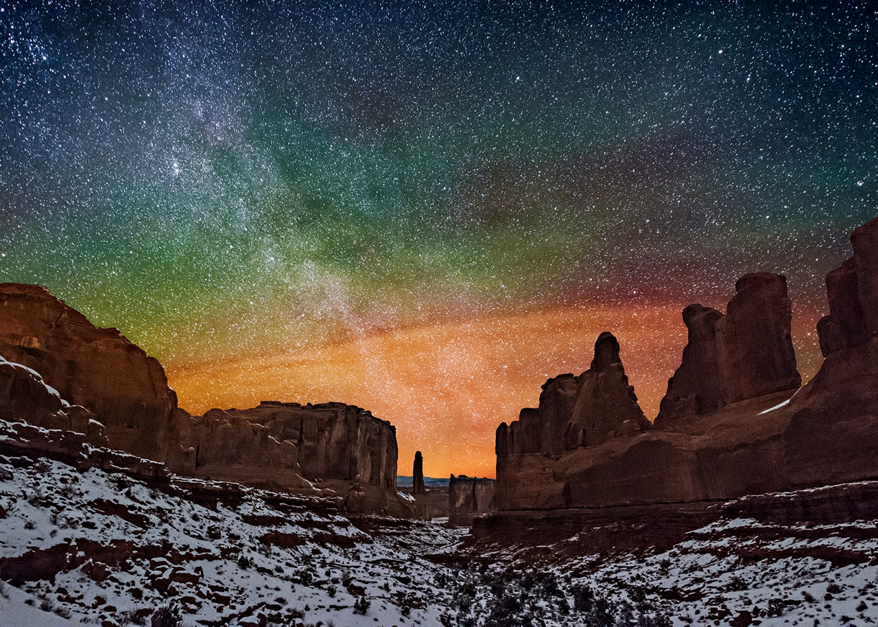 Landscape astrophotography by Wayne Pinkston 09