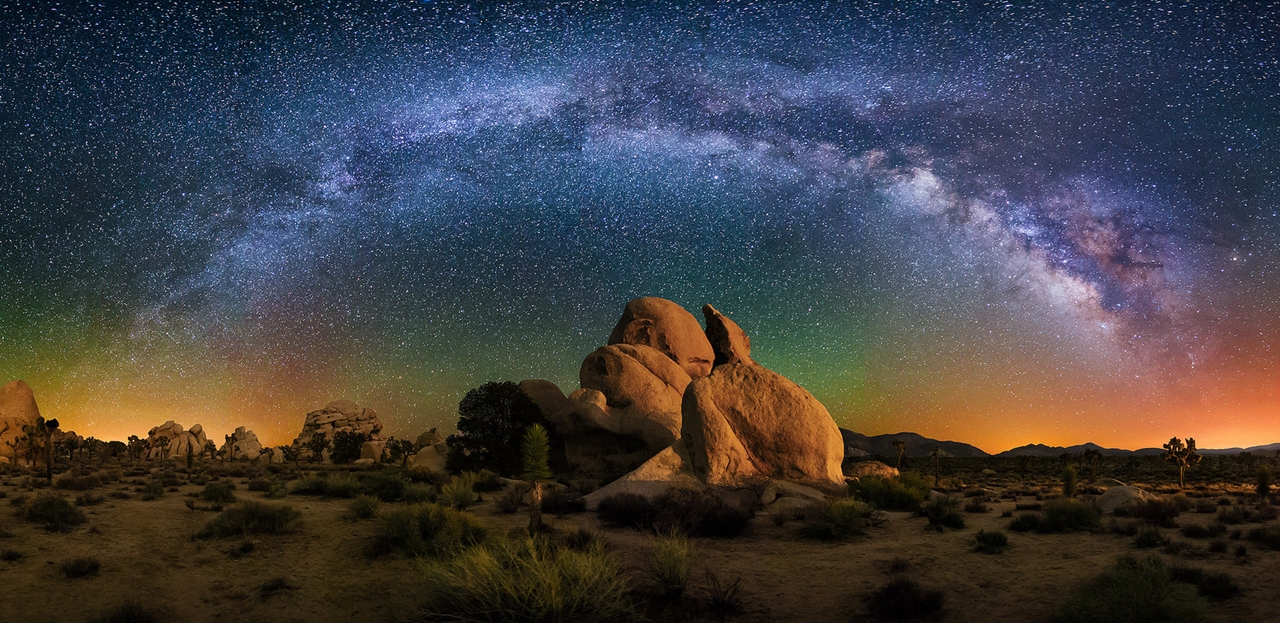 Landscape astrophotography by Wayne Pinkston 10