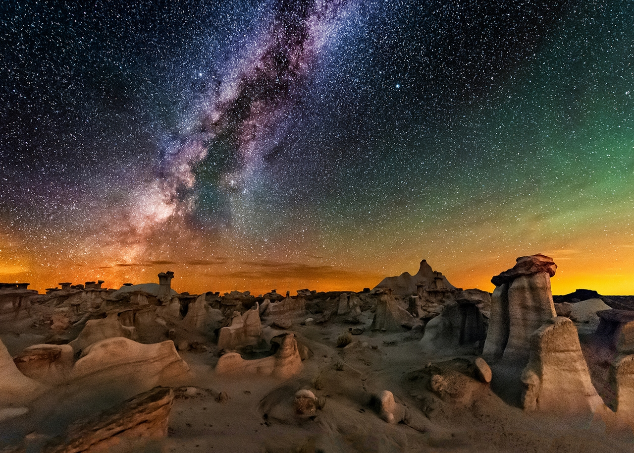 Landscape astrophotography by Wayne Pinkston 11