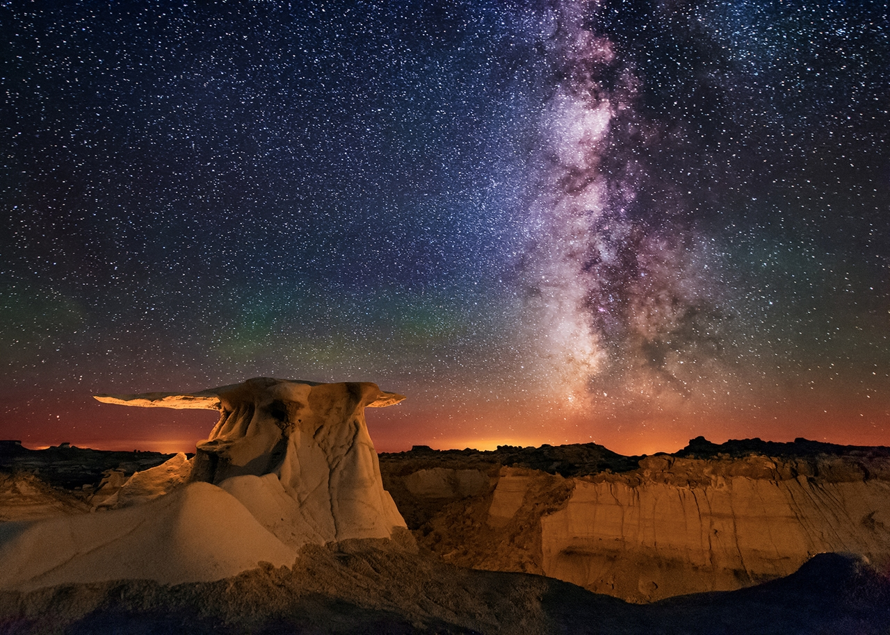 Landscape astrophotography by Wayne Pinkston 13