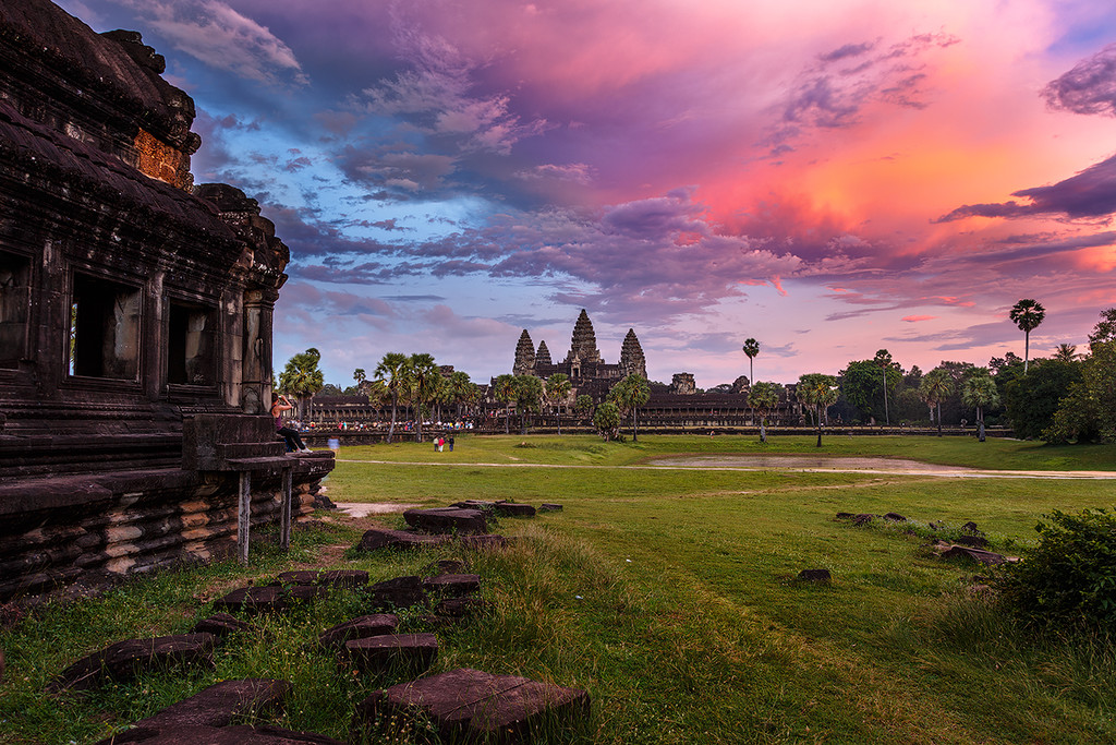 The Angkor Wat. City in the jungle 01