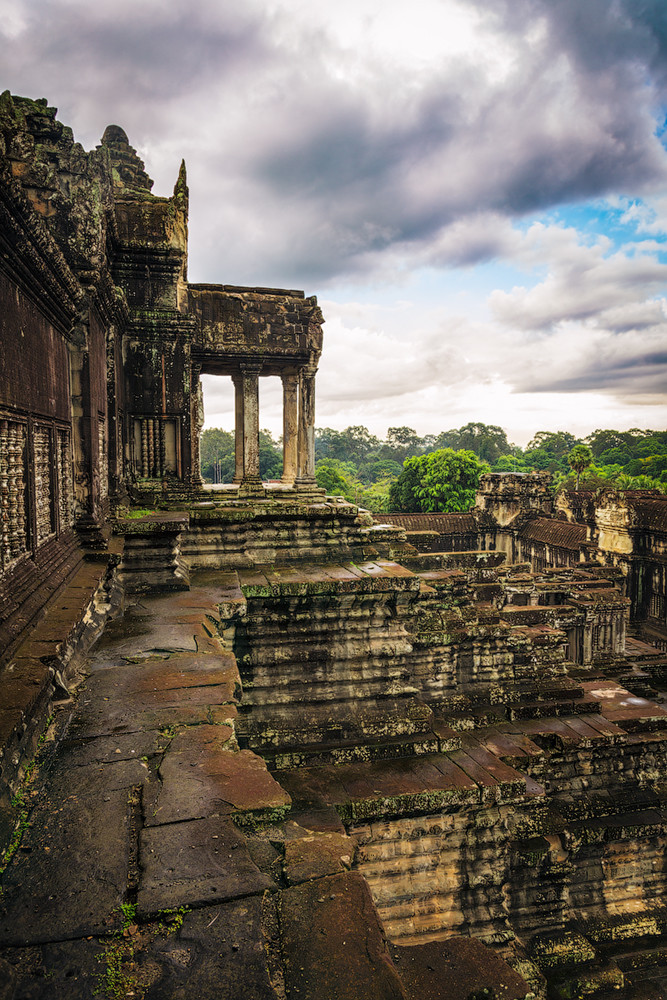 The Angkor Wat. City in the jungle 07